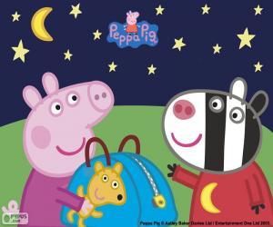 Puzle Peppa pig e Zoe Zebra