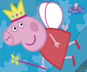 Puzle Peppa Pig: fada