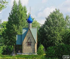Puzle Pequena capela, Rússia