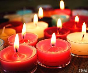 Puzle Pequenas velas, Natal