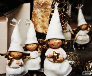Puzle Pequenos anjos de Natal