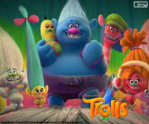Puzle Personagens de Trolls