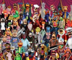 Puzle Personagens Os Muppets