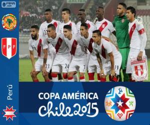 Puzle Peru Copa América 2015