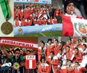 Puzle Peru, Copa América 2011 3 º lugar