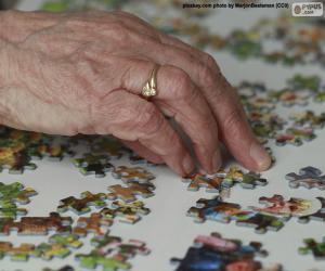 Puzle Pessoa mais velha, quebra-cabeça