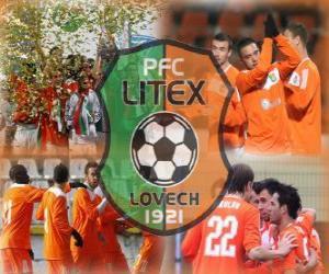 Puzle PFC Litex Lovech, clube de futebol búlgaro