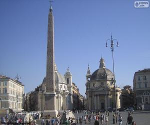 Puzle Piazza del Popolo, Roma