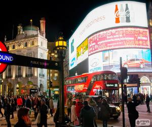 Puzle Piccadilly Circus, Londres