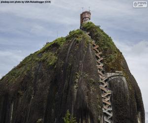 Puzle Piedra del Peñol ou Peñón de Guatapé