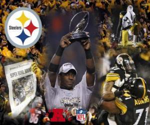 Puzle Pittsburgh Steelers campeão AFC 2010-11