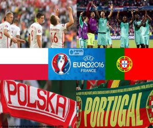 Puzle PL-PT, quartas de final Euro 2016