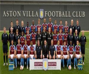 Puzle Plantel de Aston Villa F.C. 2009-10