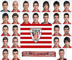 Puzle Plantel de Athletic Bilbao 2010-11