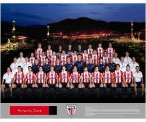 Puzle Plantel de Athletic Club - Bilbao - 2008-09