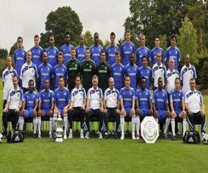 Puzle Plantel de Chelsea F.C. 2008-09