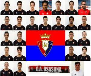 Puzle Plantel de Club Atlético Osasuna 2010-11