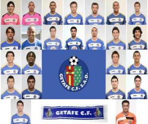 Puzle Plantel de Getafe Club de Fútbol 2010-11