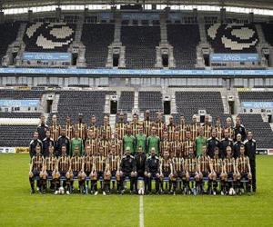 Puzle Plantel de Hull City A.F.C. 2008-09
