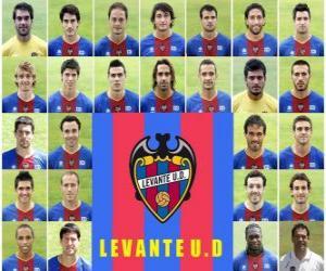 Puzle Plantel de Levante Unión Deportiva 2010-11