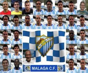 Puzle Plantel de Málaga Club de Fútbol 2010-11