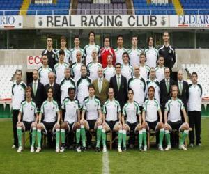 Puzle Plantel de Racing de Santander 2008-09