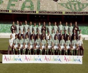 Puzle Plantel de Real Betis 2008-09