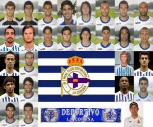 Puzle Plantel de Real Club Deportivo de La Coruña 2010-11