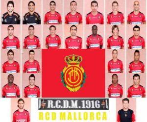 Puzle Plantel de Real Club Deportivo Mallorca 2010-11
