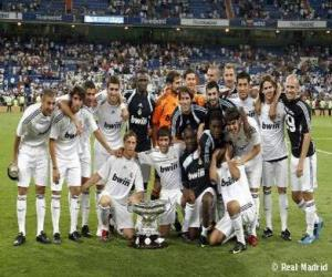 Puzle Plantel de Real Madrid 2009-10