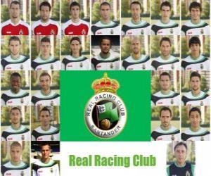 Puzle Plantel de Real Racing Club de Santander  2010-11