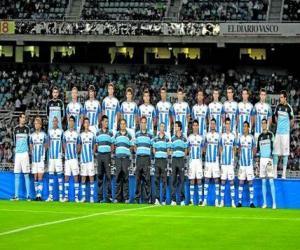 Puzle Plantel de Real Sociedad 2009-10