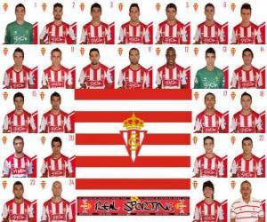 Puzle Plantel de Real Sporting de Gijón 2010-11