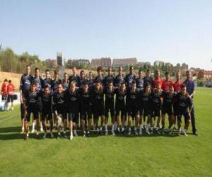 Puzle Plantel de Real Valladolid C. F. 2009-10