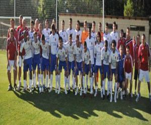 Puzle Plantel de Real Zaragoza 2009-10