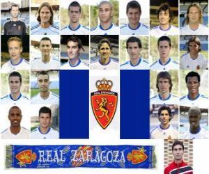 Puzle Plantel de Real Zaragoza 2010-11