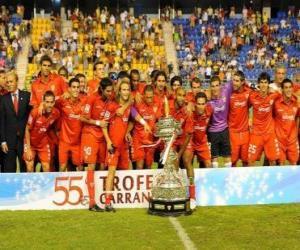 Puzle Plantel de Sevilla FC 2009-10