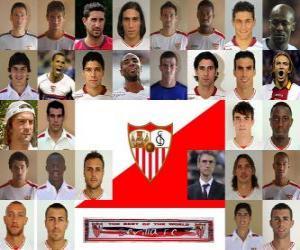 Puzle Plantel de Sevilla Fútbol Club 2010-11