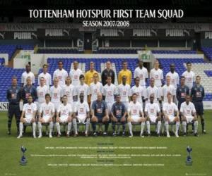 Puzle Plantel de Tottenham Hotspur F.C. 2007-08