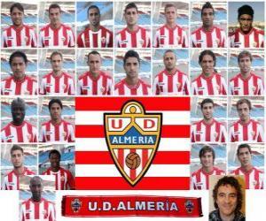 Puzle Plantel de Unión Deportiva Almería 2010-11