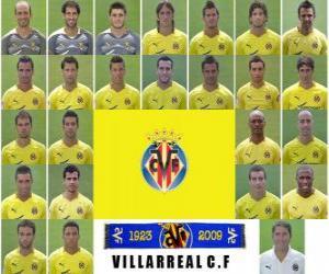 Puzle Plantel de Villarreal Club de Fútbol 2010-11