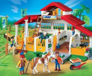 Puzle Playmobil fazenda
