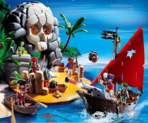 Puzle Playmobil Piratas Scene