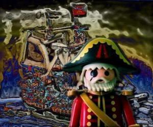Puzle Playmobil Pirate