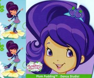 Puzle Plum Pudding, amiga de Moranguinho