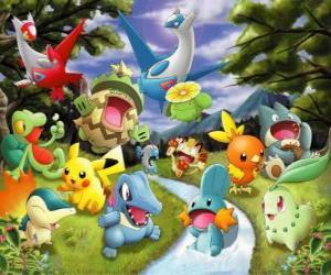 Puzle Pokémons