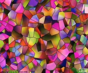 Puzle Polígonos de cores