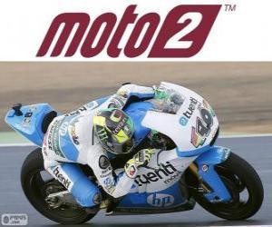 Puzle Pol Espargaró, campeão do mundo de 2013 de Moto2