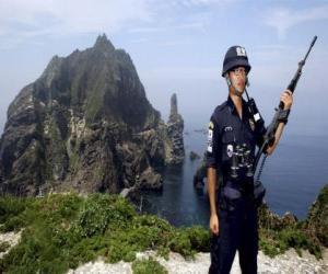 Puzle Polícia coreano