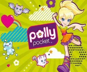 Puzle Polly Pocket com seus animais de estimação